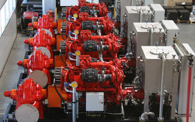 Diesel Hydraulic Fire Water Pump Systems