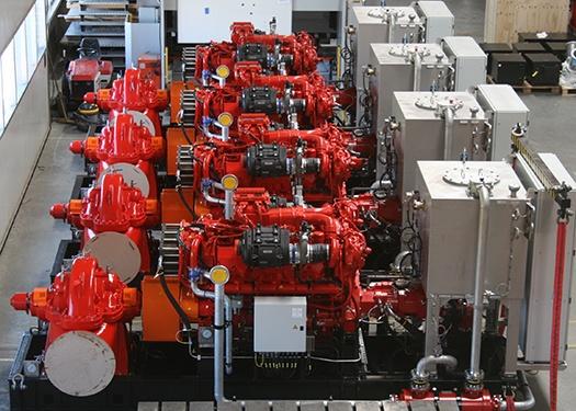 Diesel Hydraulic Fire Water Pump Systems