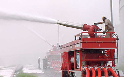 Mobile Tank Farm Fire Fighting System
