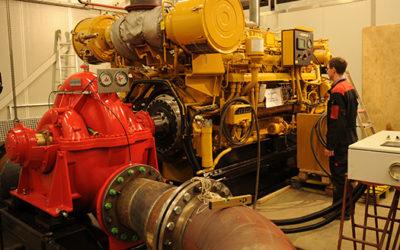 Diesel driven Fi-Fi II pump sets
