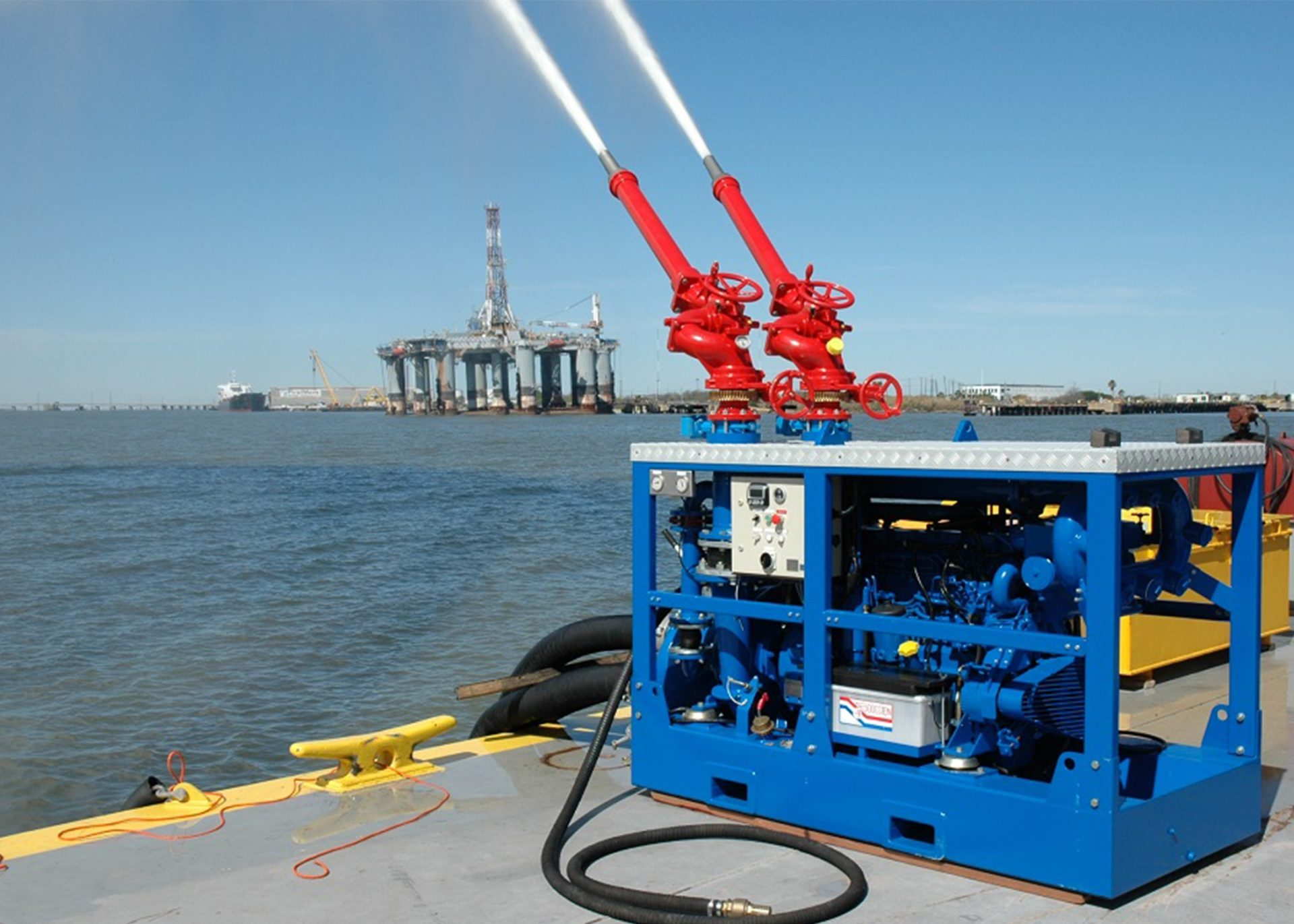 Hydrodiesel Marine Fire Fighting Portable Solutions