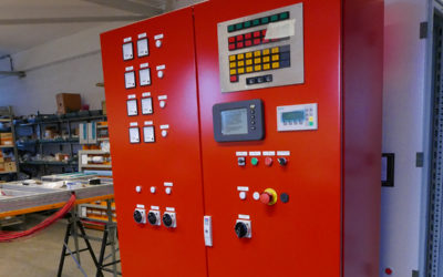 Unit Control Panel for Fire Water Pump System