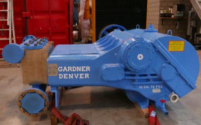 Gardner Denver overhaul